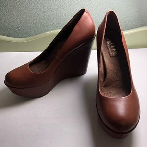 Korks by Kork ease shoes wedges heels women 8.5M/W
